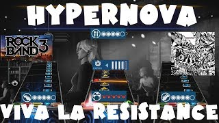 Video Hypernova - Viva La Resistance - Rock Band 3 Expert Full Band download MP3, 3GP, MP4, WEBM, AVI, FLV November 2017