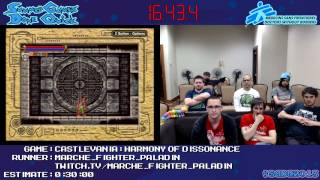 Castlevania: Harmony of Dissonance Speed Run (0:19:57) *Live at #SGDQ 2013* [GBA]
