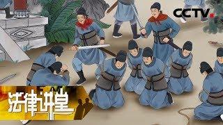《法律讲堂(文史版)》 20190721 大唐宰相遇刺案(二)谁是幕后黑手| CCTV社会与法