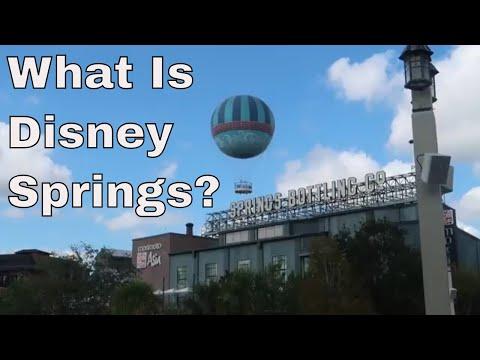 What is Disney Springs?
