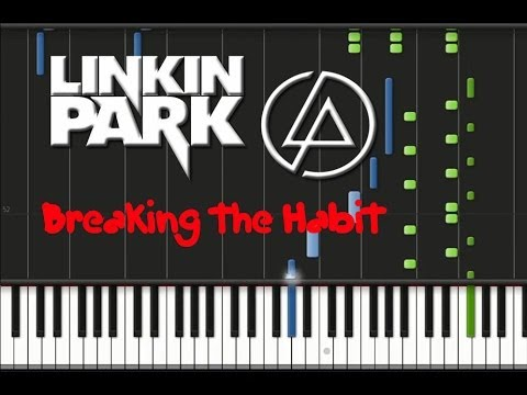 Linkin Park - Breaking the Habit Piano Cover Synthesia