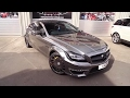 Crazy Chrome Black CLS 63 AMG with Capristo Exhaust!