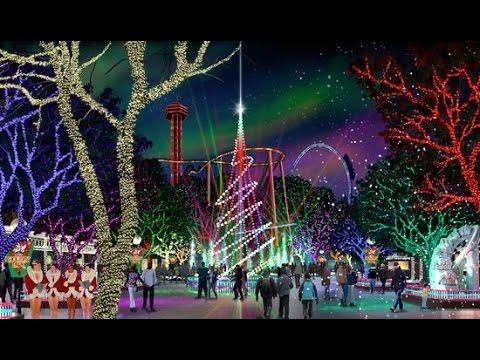 Holiday In The Park @ Six Flags Great Adventure (Jackson,NJ) - YouTube