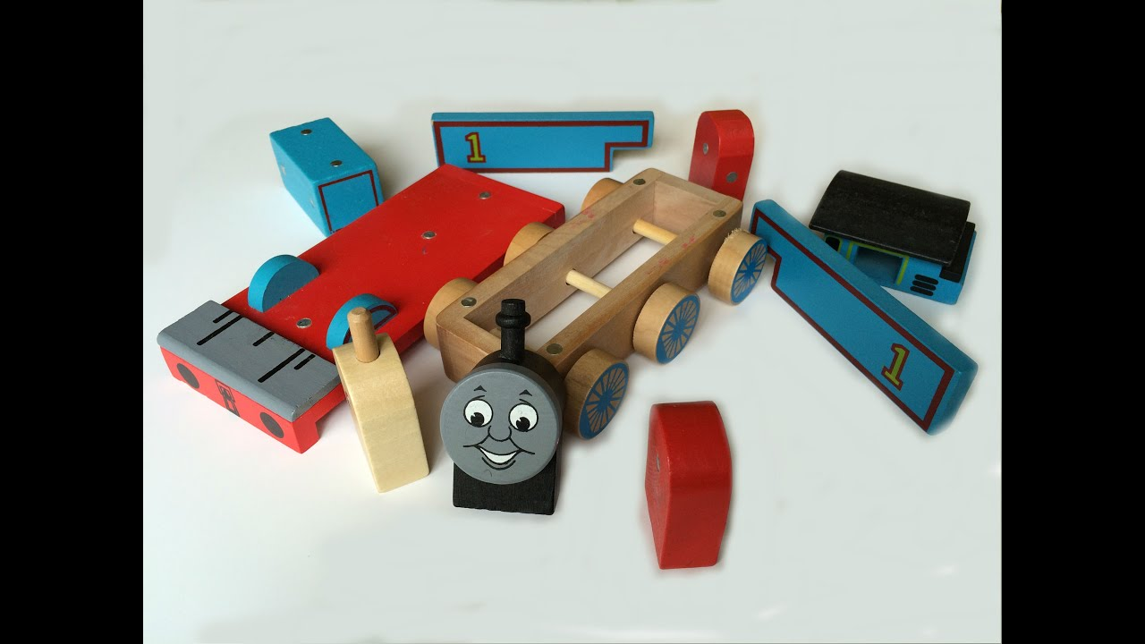 Thomas and Friends Wooden Toy Train Build like Mega Bloks and Lego ...