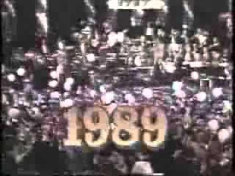 New Years Ball Drop 1988 - 1989