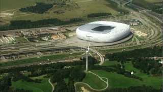 Siemens stadium technologies at the example of Allianz Arena