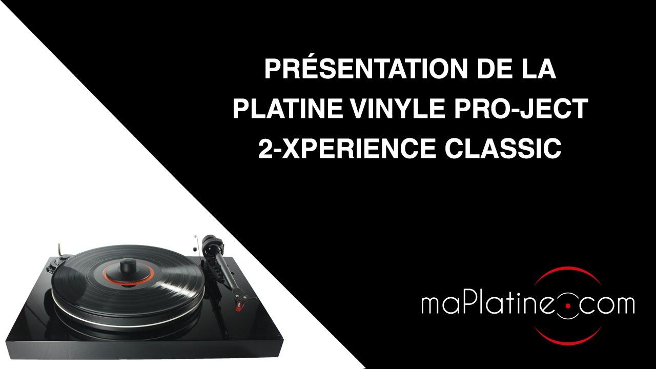 comment monter une platine vinyle pro ject 2 xperience classic youtube. Black Bedroom Furniture Sets. Home Design Ideas