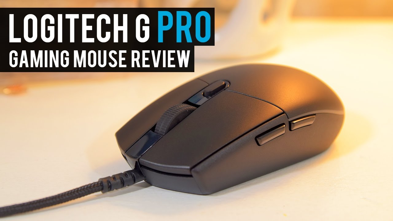 9805ac94547 Logitech G PRO Gaming Mouse Review | The BEST FPS Mouse of the YEAR ...