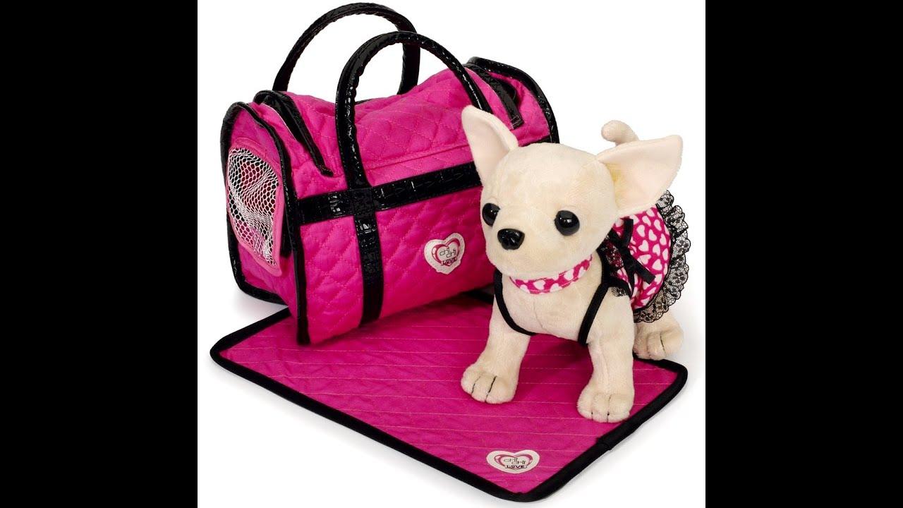 Игрушка собачка в сумке купить чи чи лав недорого аналог сhi сhi love в сумочке кикки выгодная цена в киеве украина. Игрушечная интерактивная.