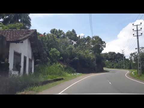 Road to Diyatalava, Sri Lanka