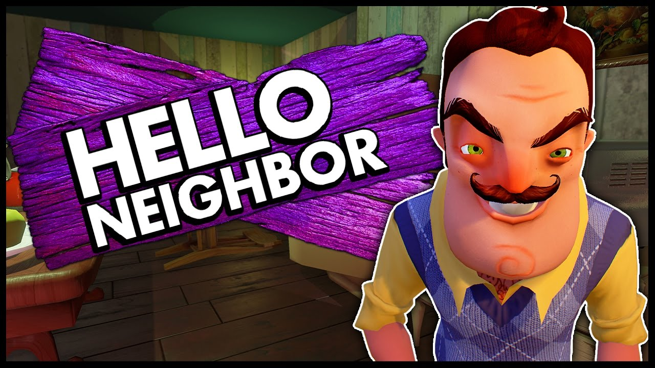 Hello Neighbor Trapping The Neighbor Ending Let S