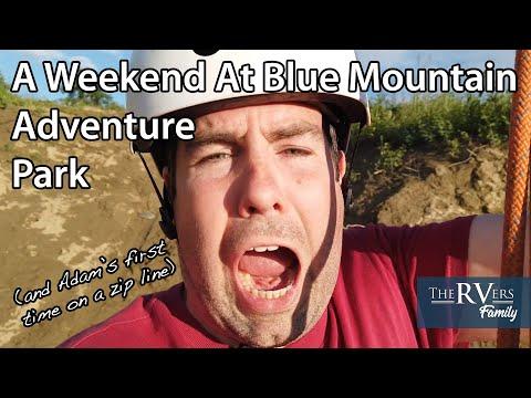 Things To Do At Blue Mountain Adventure Park, North Battleford, Saskatchewan