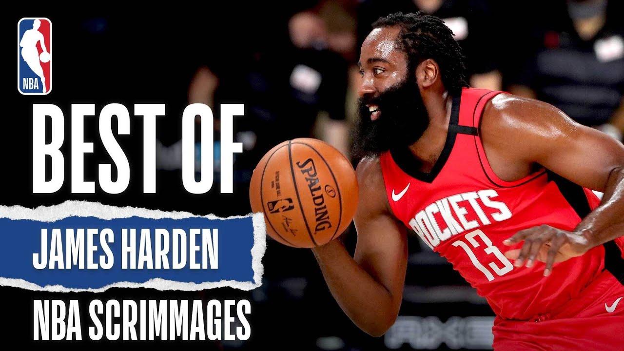 Best Of James Harden   NBA Scrimmages