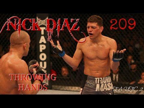 NICK DIAZ EA UFC 2