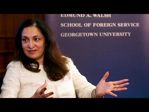 Diverse Diplomacy Leaders series with Uzra Zeya _ Full Event Video