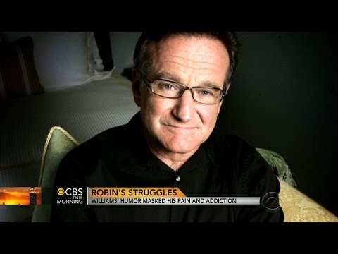 How Robin Williams' humor masked pain and addiction