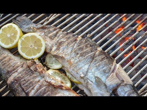 How To Grill Whole Trout