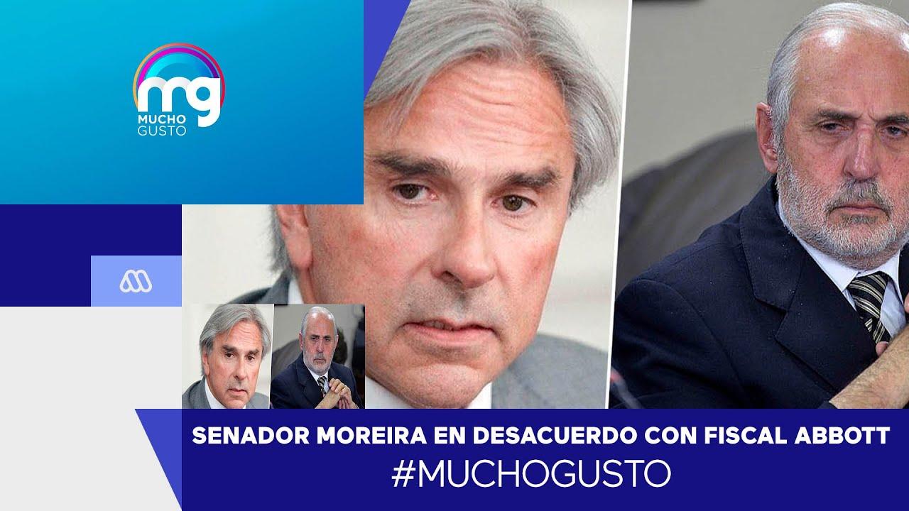 """Senador Moreira: """"Me equivoqué profundamente al votar por el Fiscal Abbott"""" - Mucho Gusto"""