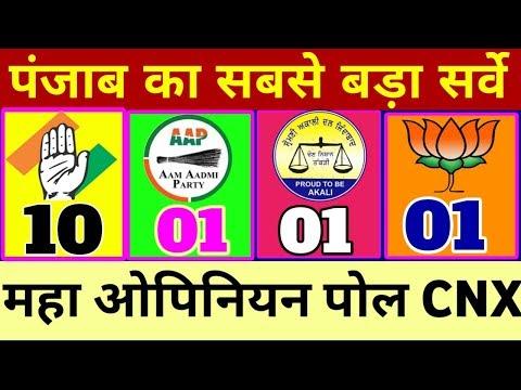 पंजाब का महा ओपिनियन पोल ! Punjab Big Opinion Poll ! लोक सभा इलेक्शन 2019