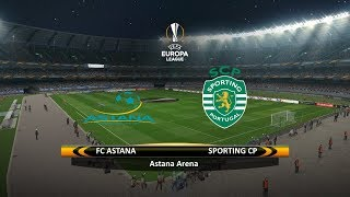 Astana vs. Sporting CP   15/02/2018   UEFA Europa league 2017/2018