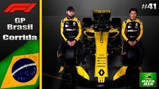 F1 2018 GP BRASIL CARREIRA #41 - CHEGOU O GRANDE DIA