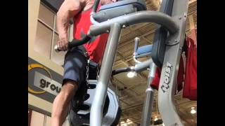 Weighted Dips 115 Pounds