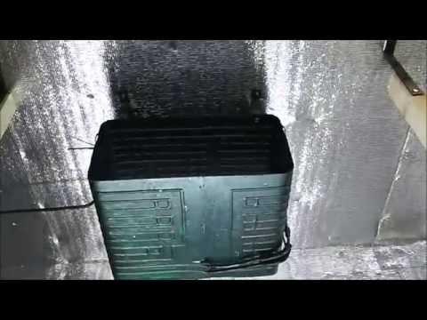 видео: cистема охлаждения в грибном помещении (cooling of mushroom room)