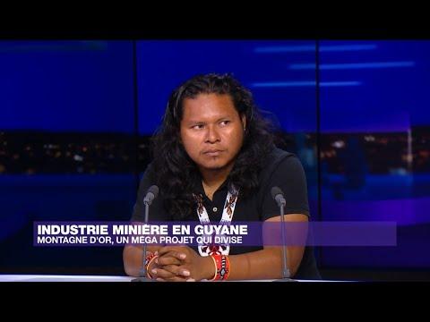 """Mines en Guyane: le projet Montagne d'or """"inacceptable"""" pour les autochtones"""