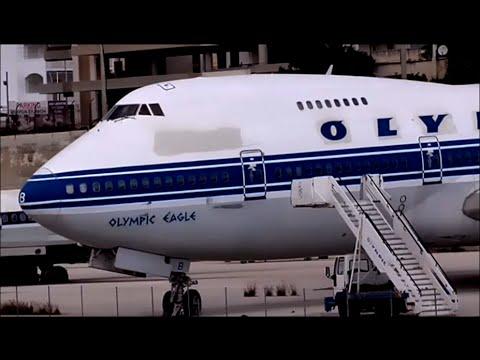 Olympic Airways Boeing 747