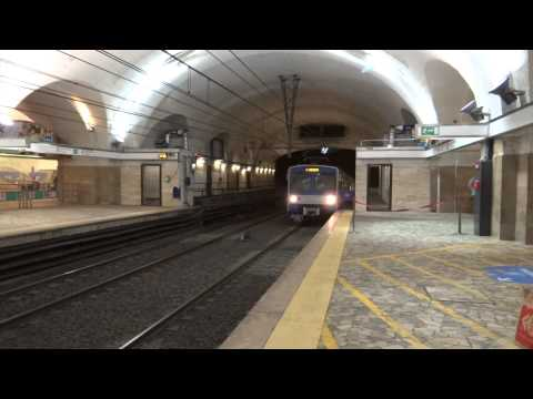 Rome, Italy - Rome Metro HD (2015)