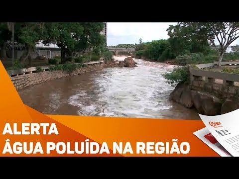 Alerta: água poluída na região - TV SOROCABA/SBT