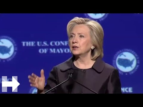 Hillary Clinton at the 2015 U.S. Conference of Mayors | Hillary Clinton
