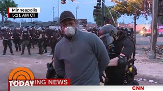 Cnn Reporter Arrested While Covering Unrest In Minneapolis | Today