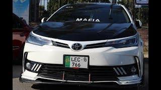 Toyota Corolla Grande Facelift From Lahore   Autimo Auto Show   Muneeb Akram