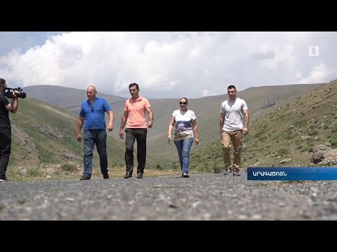 Anomalous zone in Armenia H1 TV channel 16.07.2017