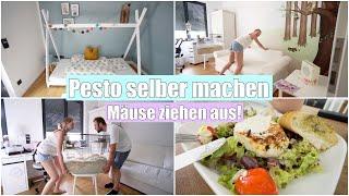 Schlafprobleme mit Kindern | Möbel umstellen & Salat mit Ziegenkäse | Isabeau