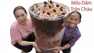 Bà Tân Vlog - Làm Cốc Milo Dầm Trân Châu Siêu To Khổng Lồ