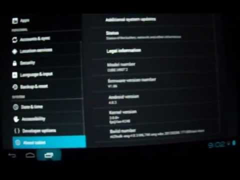 Opera Mobile 12 Bug On Android 4.0.3 Tablet