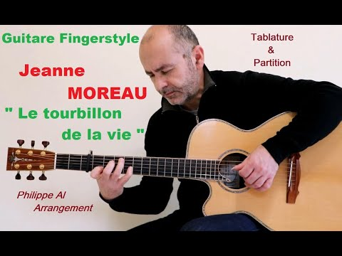 jeanne moreau vanessa paradis le tourbillon de la vie guitare fingerstyle youtube. Black Bedroom Furniture Sets. Home Design Ideas
