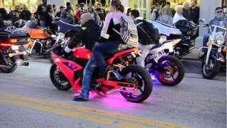 Daytona Bike Week   Mainstreet / Kawasaki - Suzuki Poser