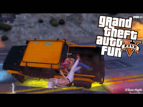 GTA 5 Next Gen Fun - A Titan of a Job...