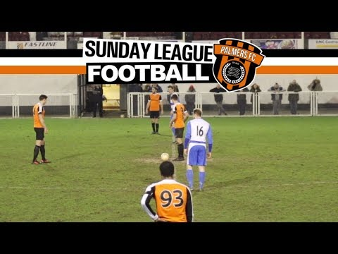Sunday League Football - THE LEAGUE CUP FINAL