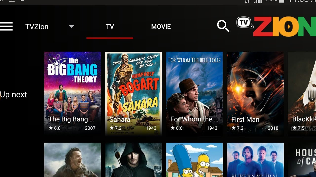 TV ZION APK (MOVIES, TV SHOWS, ANIME) IS GETTING BETTER AND BETTER