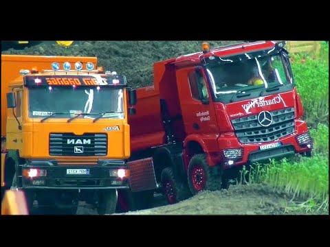 Супер игрушки №2. Мультик про грузовик, фуру, трактор, погрузчик, кран. Камазы мультики.