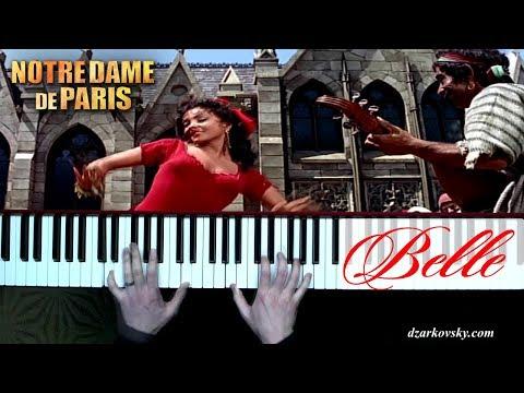 Нотр Дам де Пари на пианино - Notre Dame De Paris Belle