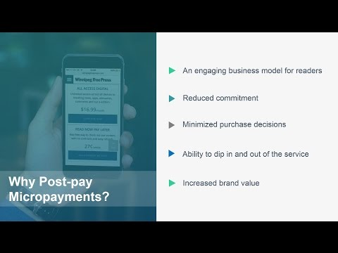 Webinar Free Press:  Micropayments & the Customer