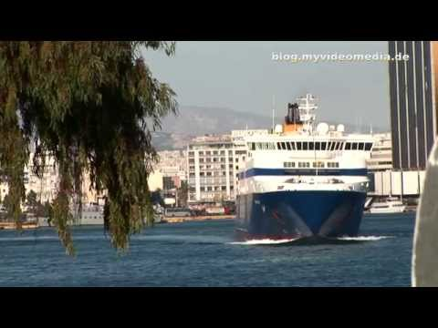 The Port of  Piraeus, Athens - Greece HD Travel Channel
