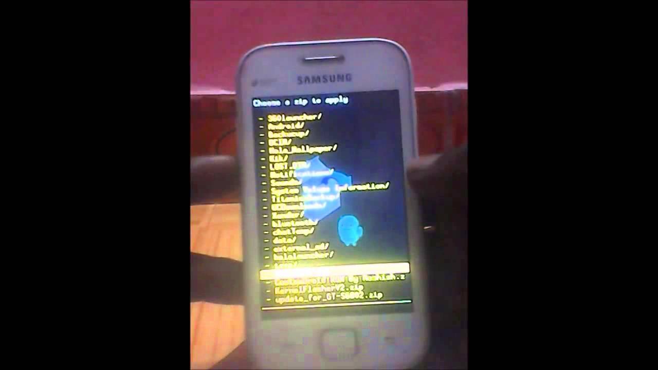 Прошивка android 4 на samsung gt s6802