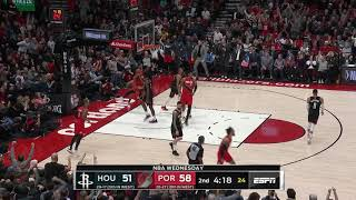 Portland Trail Blazers vs Houston Rockets | January 29, 2020