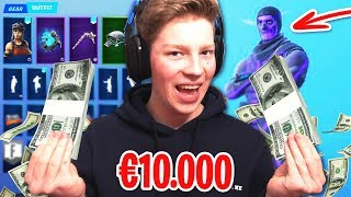 I HAVE THE MOST EXPENSIVE FORTNITE ACCOUNT IN THE NETHERLANDS!!!